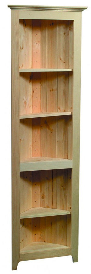 Pine Unfinished Shelf - Home Office