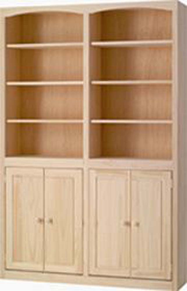 "48"" Bookcase with Doors"
