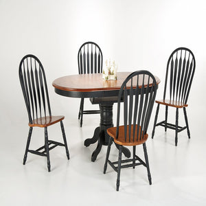 Single Pedestal / Butterfly Leaf Table - Dining