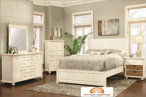 Coastal Bed - Bedroom Furniture
