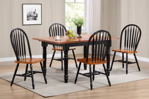 5 Piece Butterfly Leaf Table