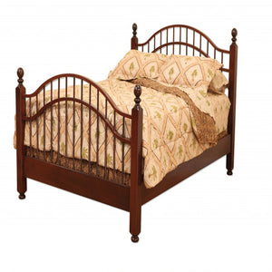 Double Bow Bed - Bedroom Furniture