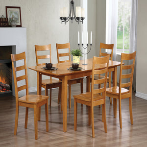 Solid Hardwood Butterfly Leaf Dining Table - Dining