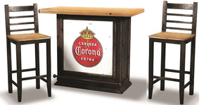 3 Piece Party Bar Set with Storage