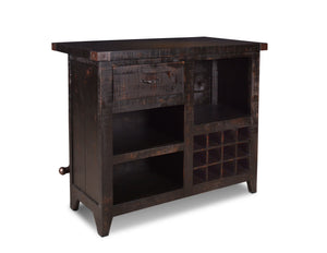 Graphic 12 Bottle Wine Bar Set with Storage