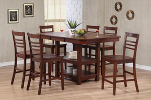 Contemporary High Top Dining Set