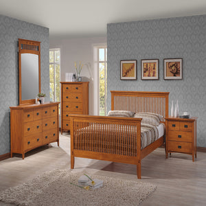 Mission Queen Bed - Bedroom Furniture