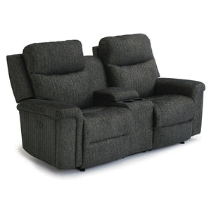 Optima Power Tilt Headrest Space Saver Loveseat Console Chaise