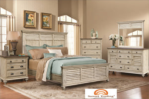 Brockton Queen Bed - Bedroom Furniture