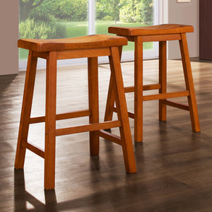 24 Saddle Stool - Dining