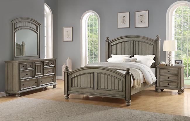 Barnwell Queen Size Bed