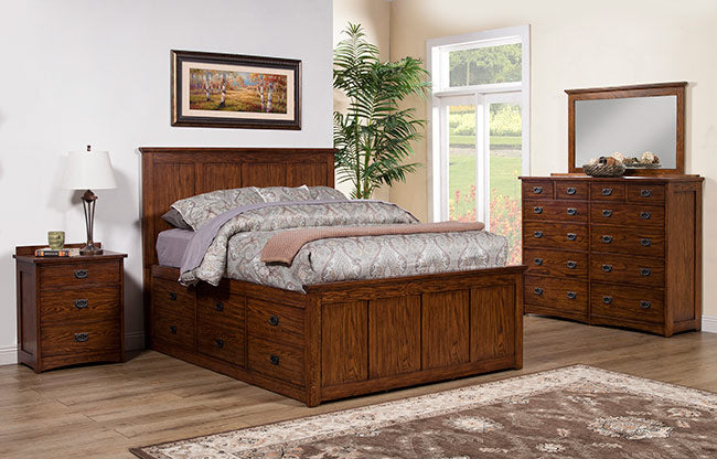 Colorado Queen Storage bed