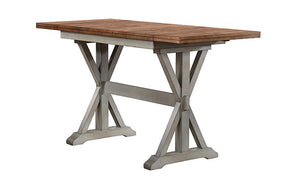 66 in Tall table w/ 2-10 in ... 66W x 28D x 36H DBT52866