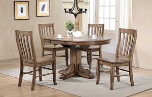 "57"" Pedestal Table w/ 15"" Bu... 42W x 57D x 30H DC34257R"