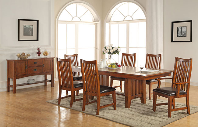 Colorado 7-PC Dining Room Set