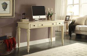 "54"" Fluted Leg Writing Desk"