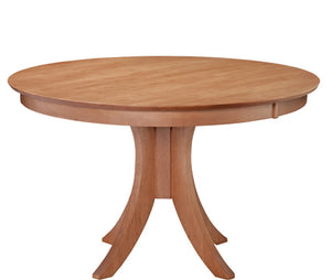 Siena 48 Pedestal Table W/ 30 Base - Dining