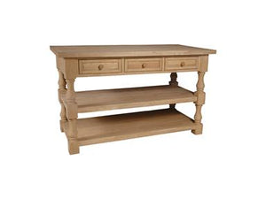 Tuscan Kitchen Island - Dining