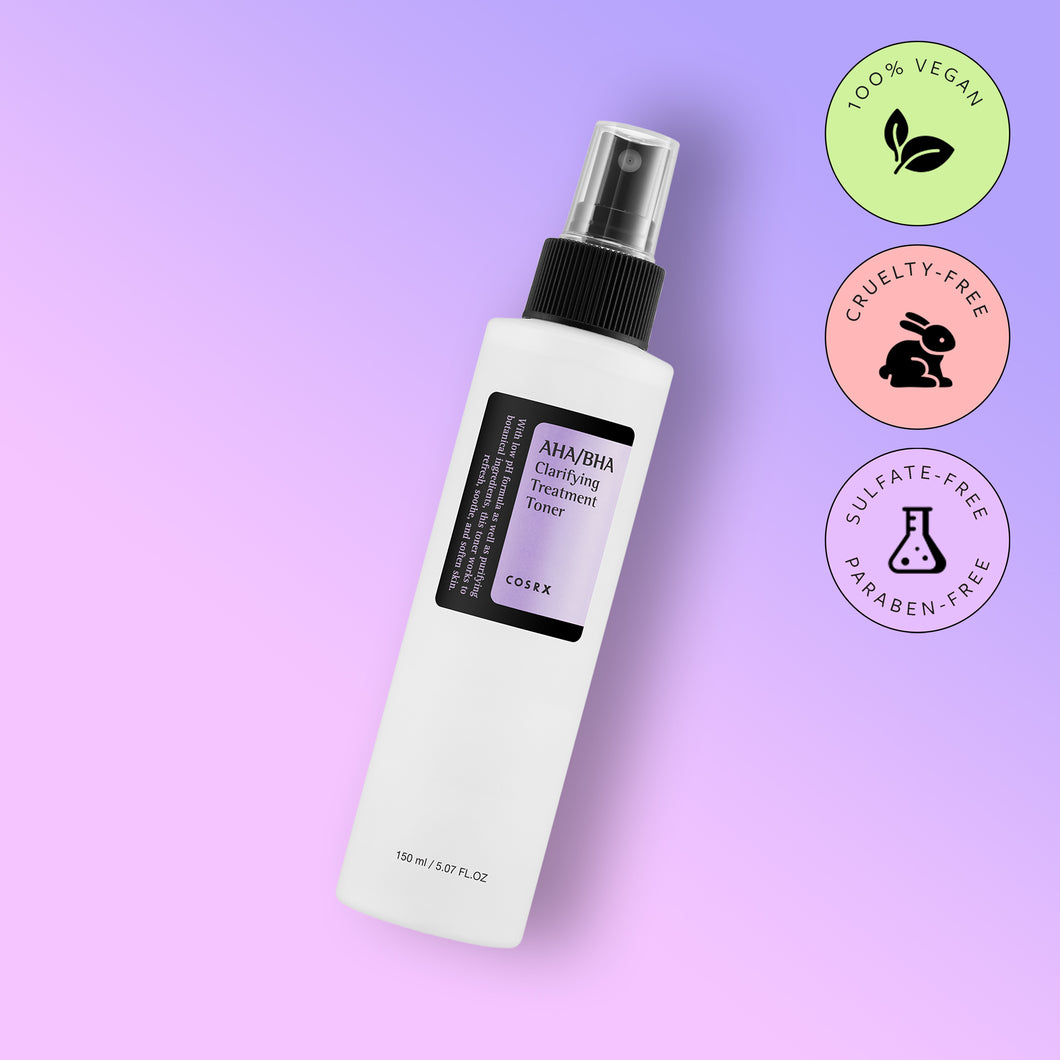 Toner COSRX AHA/BHA Clarifying Treatment Toner 100ml