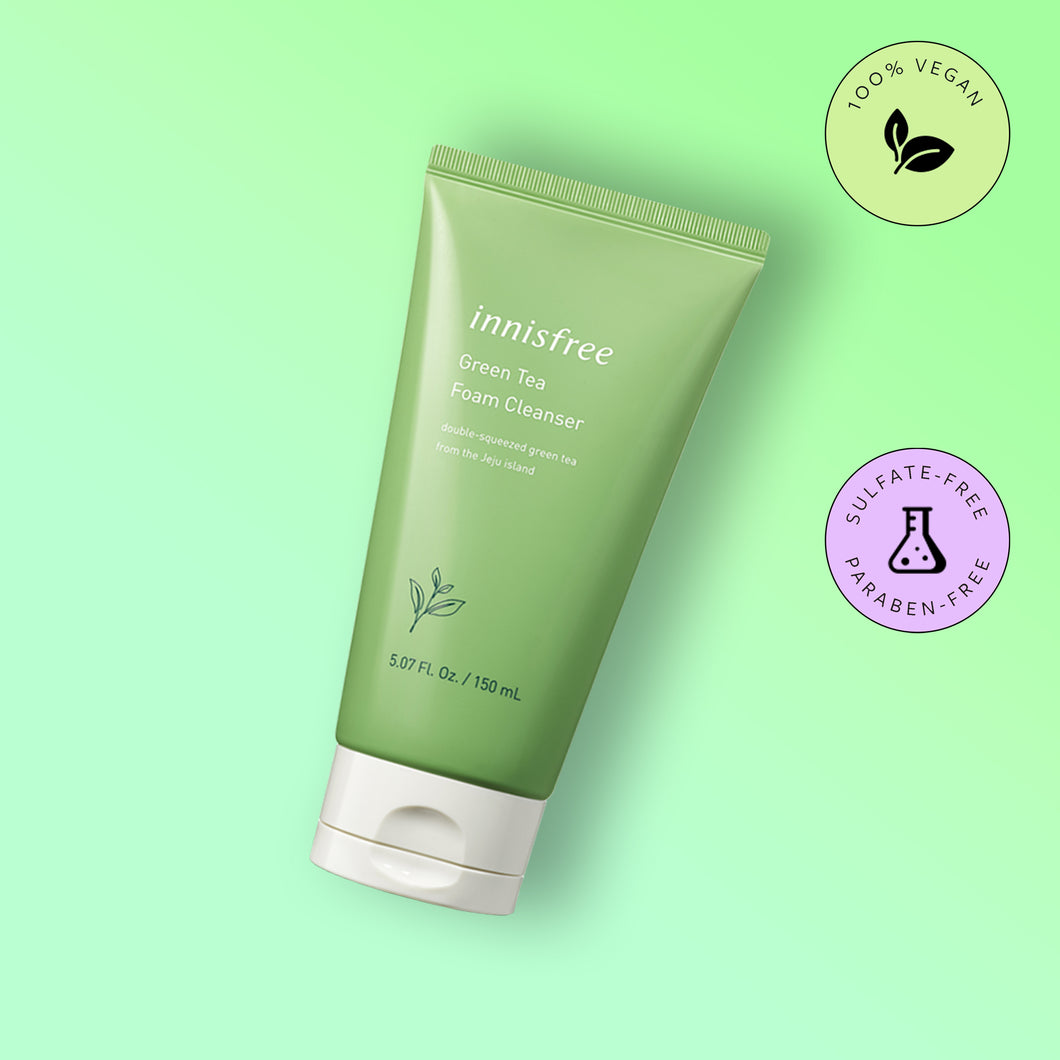 Cleanser Innisfree Green Tea Foam Cleanser - Cleanser Innisfree cu Ceai Verde 150ml