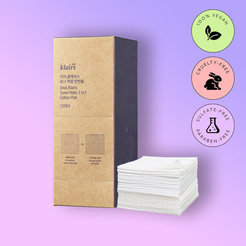 TONER MATE 2-IN-1 COTTON PAD