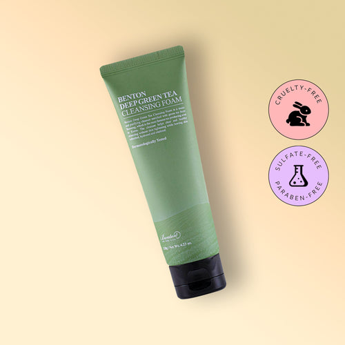 DEEP GREEN TEA CLEANSING FOAM