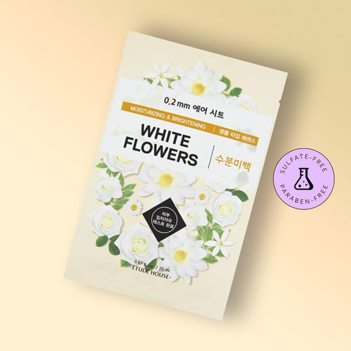 0.2 THERAPY AIR MASK - WHITE FLOWERS