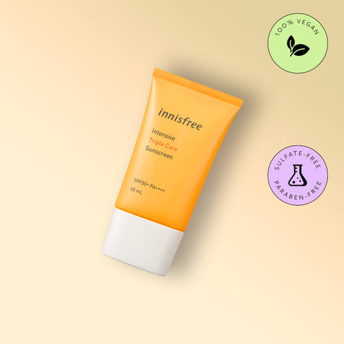 Crema cu protectie solara Innisfree Intensive Triple Care Sunscreen SPF50+ 50ml