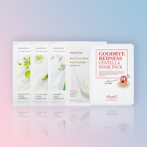 SET CALMANT TEN ACNEIC (SHEET MASKS)