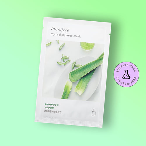 Masca faciala Innisfree My Real Squeeze Mask Aloe 20ml
