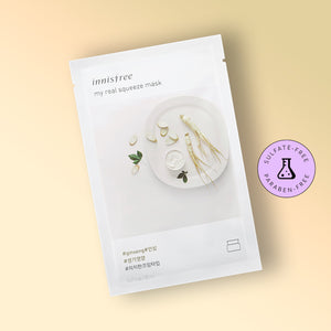 Masca faciala Innisfree My Real Squeeze Mask Ginseng 20ml