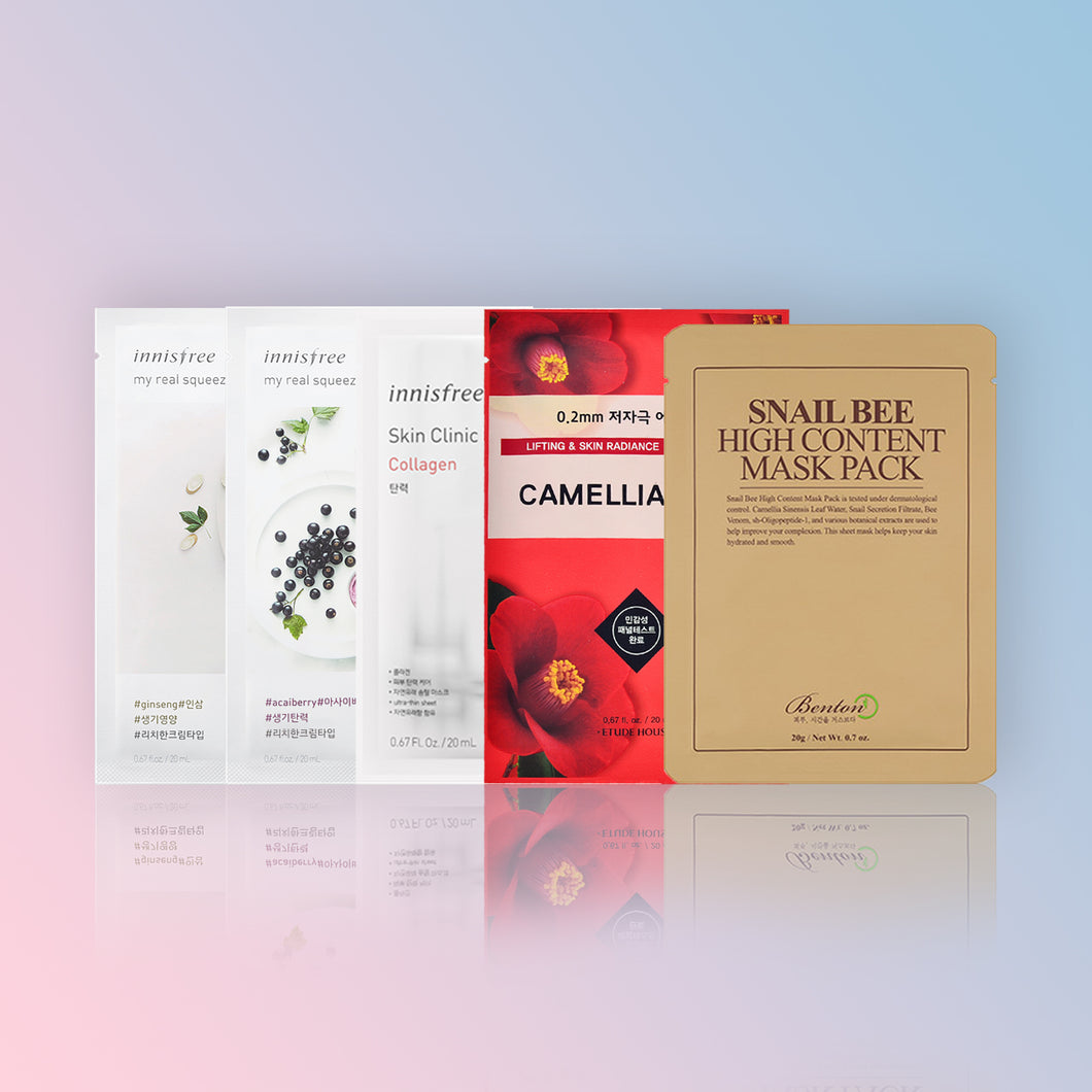 SET ANTI-ÎMBĂTRÂNIRE (SHEET MASKS)