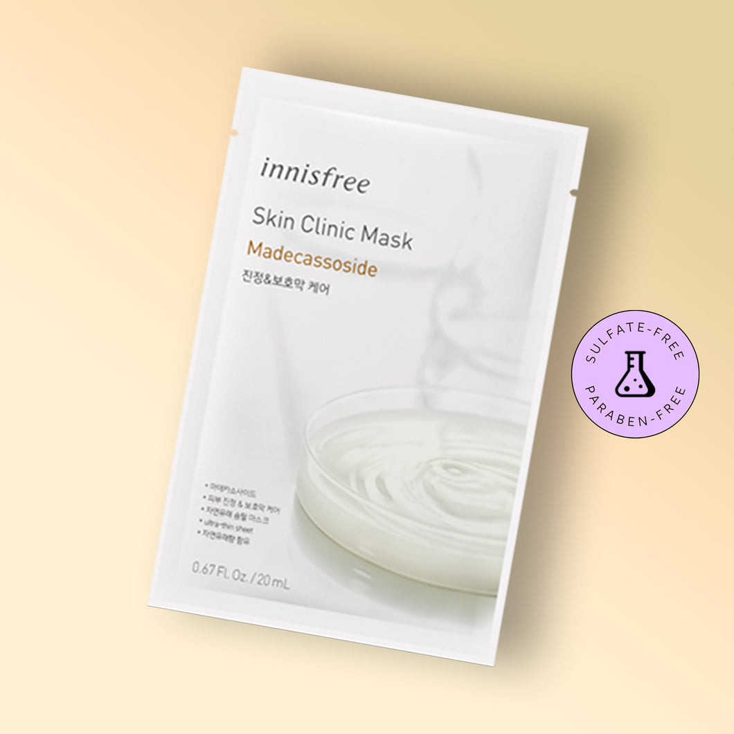 SKIN CLINIC MASK - MADECASSOSIDE