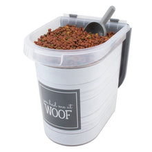 Load image into Gallery viewer, 26 lb Pet Food Bin, Woof