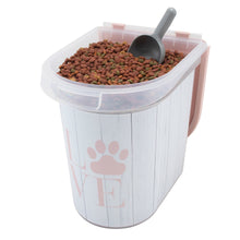 Load image into Gallery viewer, 26 lb Pet Food Bin, Love