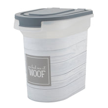 Load image into Gallery viewer, 15 lb Food Bin, Woof