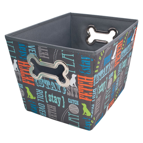 Pet Supply Bin, Wordplay by Macbeth Collection