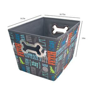 Pet Supply Bin, Wordplay by Macbeth