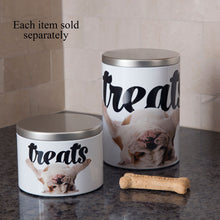 Load image into Gallery viewer, Small Treat Tin, Bulldog