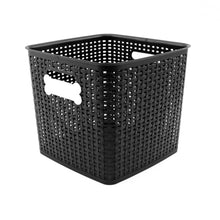 Load image into Gallery viewer, Dogbone Label Storage Bin, 12 x 12