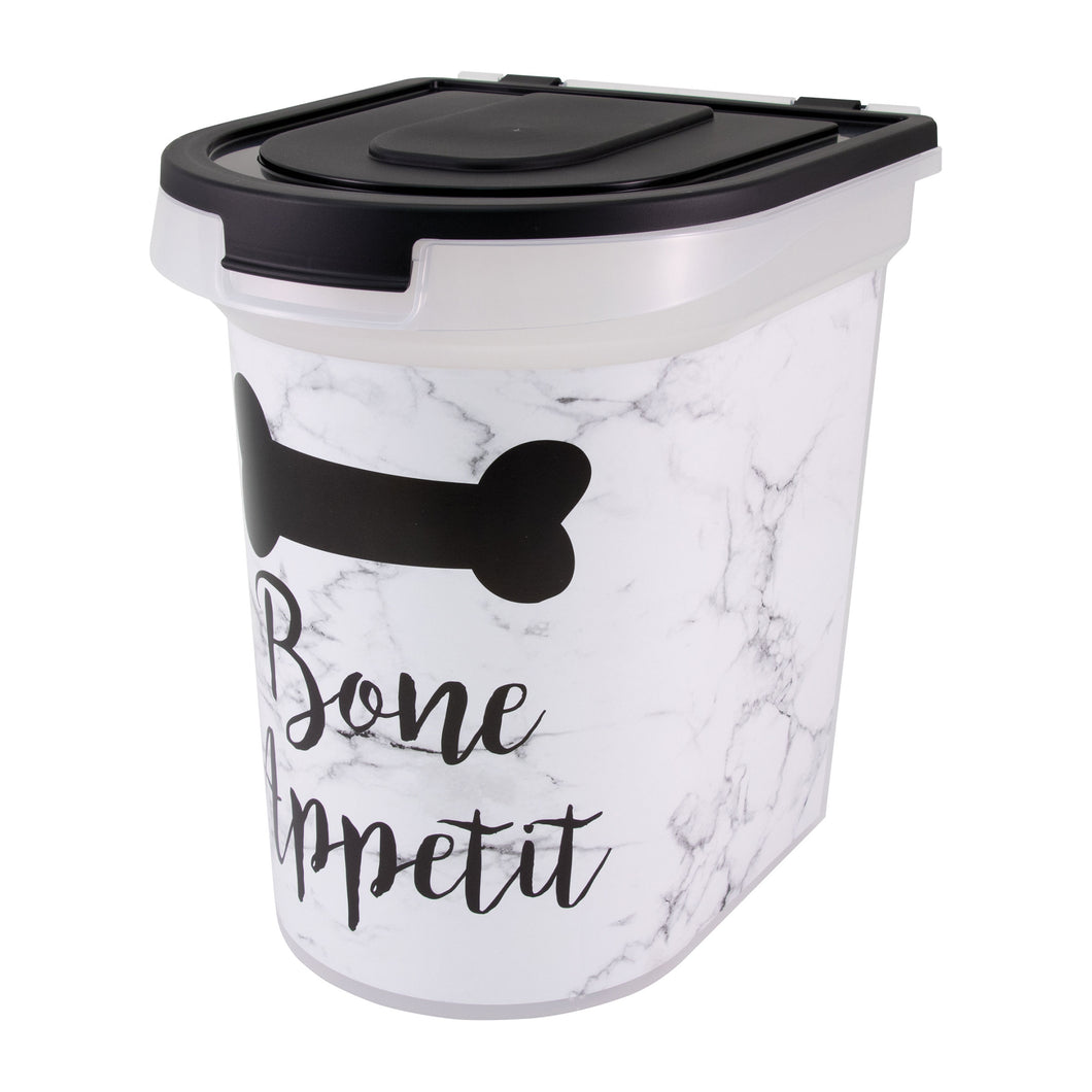 26 lb Pet Food Bin, Bone Appetit