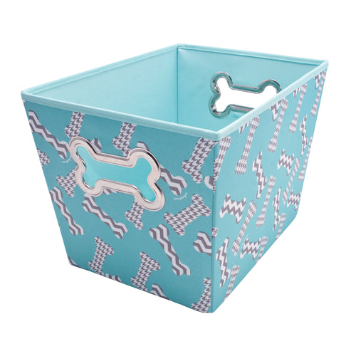 Pet Supply Bin, Bones by Macbeth Collection