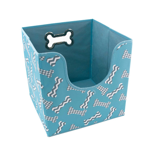 Easy-Access Toy Bin, Bones by Macbeth