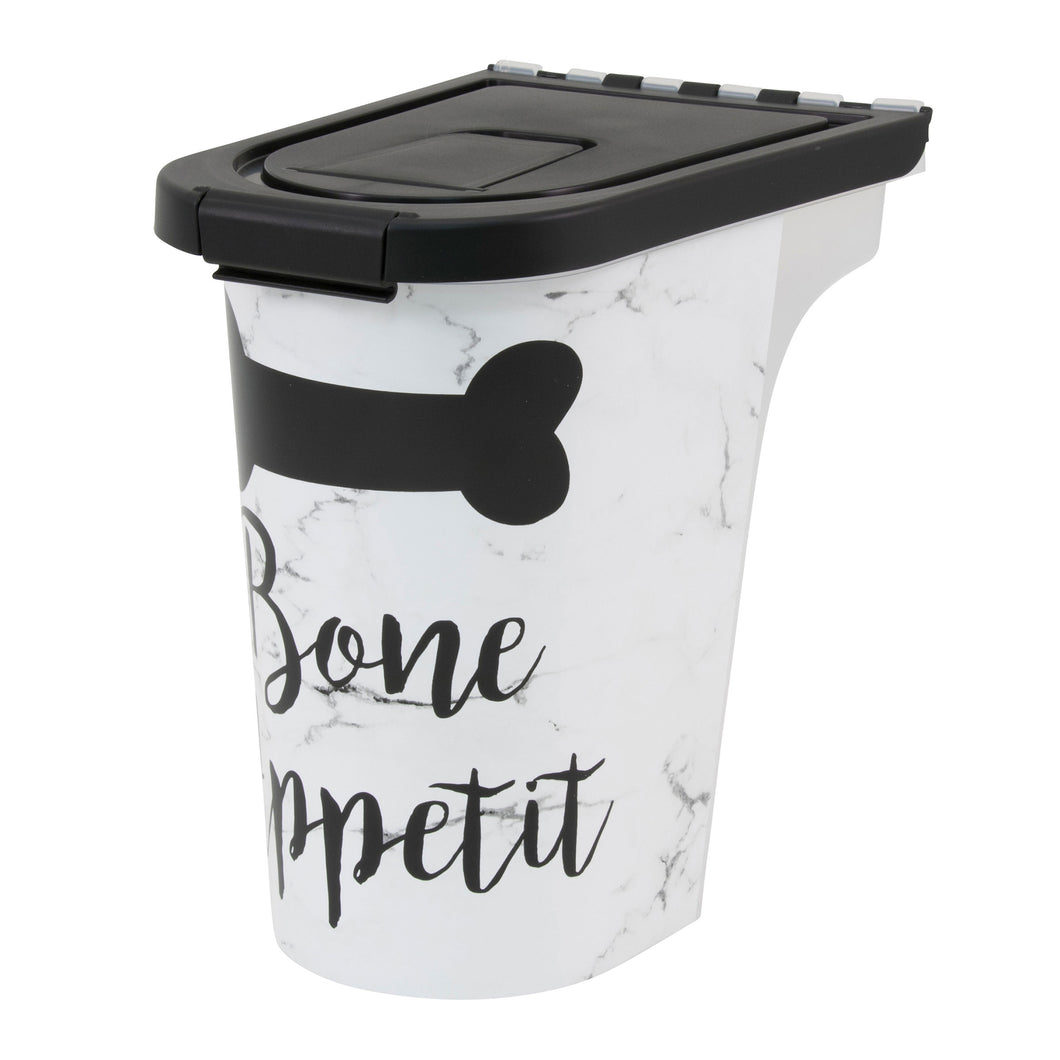 7 lb Pet Food Bin, Bone Appetit