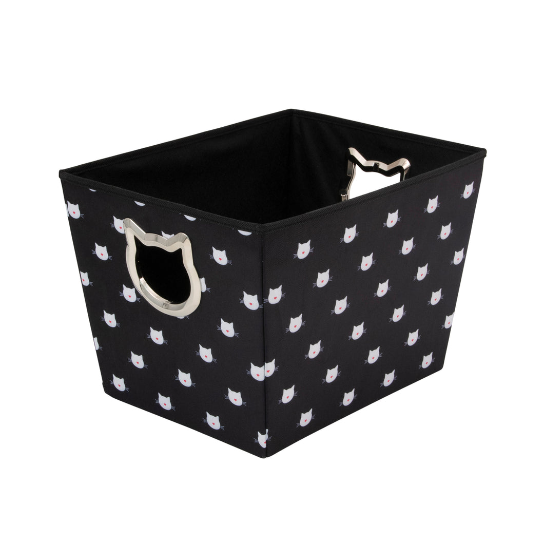 Pet Supply Bin, Cute Cat
