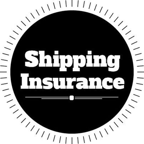 Custom order - add on: Shipping / Postal insurance