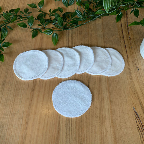 Makeup remover pads - bamboo terry / bamboo velour *seconds*