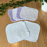 Cloth wipes - Aroha Heartwood & Bamboo Velour