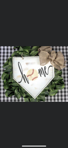 Home Plate Door Hanger