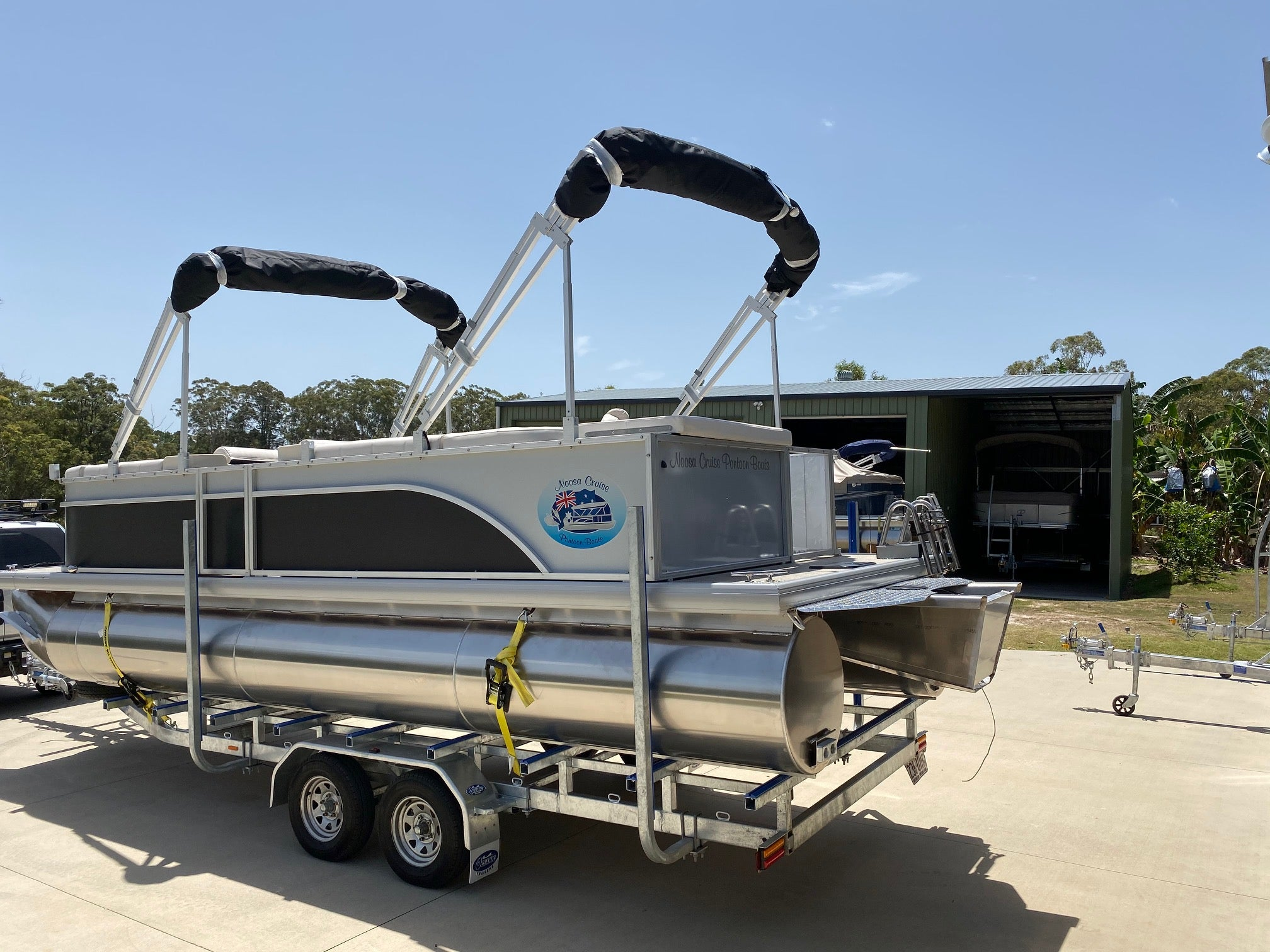 Pontoon Boat Trailers - (Stocks of new and second hand vary) Australian made trailers
